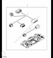 Yedek parçalar John Deere AXE19488 John Deere 9880i STS - Wiązka przewodów