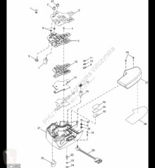Repuestos John Deere AH168662 John Deere 9880i STS - Przełącznik kołysk./dwust. usado