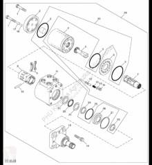 Pièces détachées John Deere AH142893 John Deere 9880i STS - Zestaw uszczelnienia occasion