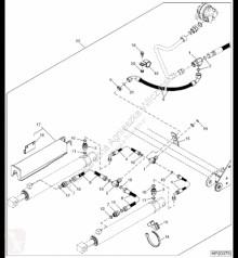 Części zamienne John Deere 38H1002 John Deere 9880i STS - Łącznik teowy używana