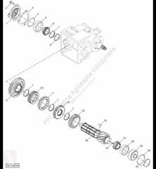 Repuestos John Deere CE18201 John Deere 9880i STS - Obudowa usado