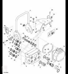 Części zamienne John Deere AXE60983 John Deere 9880i STS - Gniazdo szybkosprzęgu hydr. używana
