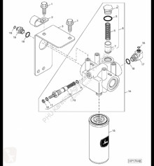 Repuestos John Deere AH128451 John Deere 9880i STS - Hydraul.zawór ciśnieniowy usado