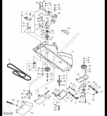 Pièces détachées John Deere H220275 John Deere 9880i STS - Piasta occasion