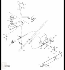 Repuestos John Deere H177928 John Deere 9880i STS - Podpora usado