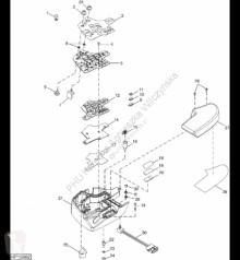 Yedek parçalar John Deere AH202830 John Deere 9880i STS - Klawiatura elastomerowa