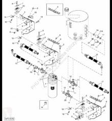 Резервни части John Deere AH161786 John Deere 9880i STS - Przewód hydrauliczny втора употреба