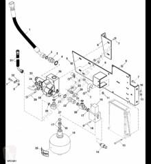 Repuestos John Deere AZ61684 John Deere 9880i STS - Akumulator hydrauliczny usado