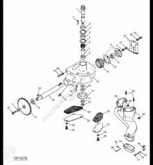 Yedek parçalar John Deere H129653 John Deere 9880i STS - Wał ikinci el araç