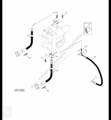Náhradné diely John Deere AH225307 John Deere 9880i STS - Przewód hydrauliczny ojazdený