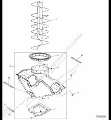 Repuestos John Deere AH211923 John Deere 9880i STS - Obudowa usado