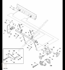 Pièces détachées John Deere AH218301 John Deere 9880i STS - Rura occasion