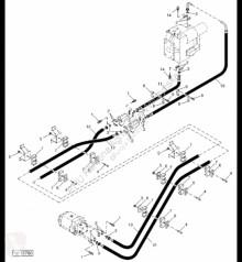 Yedek parçalar John Deere AH144192 John Deere 9880i STS - Przewód hydrauliczny ikinci el araç