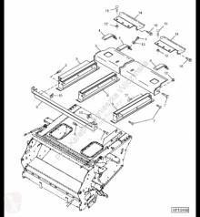 Резервни части John Deere AH155034 John Deere 9880i STS - Płoza втора употреба