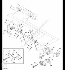 Repuestos John Deere AH224006 John Deere 9880i STS - Przekładnia ślimakowa usado