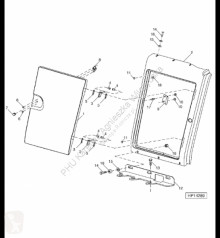 Pièces détachées John Deere AH150948 John Deere 9880i STS - Panel occasion
