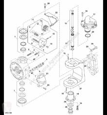 Części zamienne John Deere HXE18196 John Deere 9880i STS - Oś przegubu używana