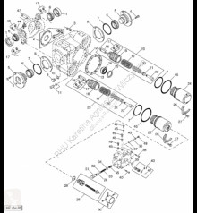 Pièces détachées John Deere AH131392 John Deere 9880i STS - Zestaw płyty occasion