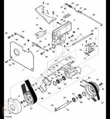 Repuestos John Deere H227982 John Deere 9880i STS - Wałek napędowy pośredni usado