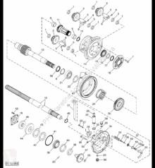 Резервни части John Deere H234410 John Deere 9880i STS - Wał втора употреба
