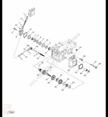 Repuestos John Deere H176278 John Deere 9880i STS - Bieg usado