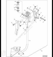 Pièces détachées John Deere R52862 John Deere 9880i STS - Podkładka sprężynowa