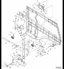 Yedek parçalar John Deere AH223047 John Deere 9880i STS - Kanał ikinci el araç