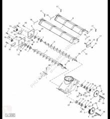 Yedek parçalar John Deere AH173380 John Deere 9880i STS - Osłona