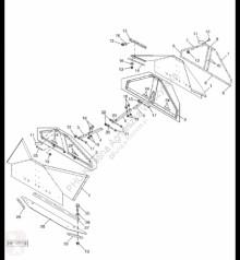 Резервни части John Deere AH221777 John Deere 9880i STS - Plandeka втора употреба