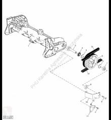 Repuestos John Deere H174585 John Deere 9880i STS - Koło prowadzące usado