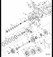 Резервни части John Deere H129934 John Deere 9880i STS - Wał втора употреба