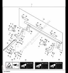Резервни части John Deere KXE10485 John Deere 9880i STS - Zestaw zatrzasku втора употреба