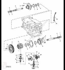 Yedek parçalar John Deere H165508 John Deere 9880i STS - Wał ikinci el araç