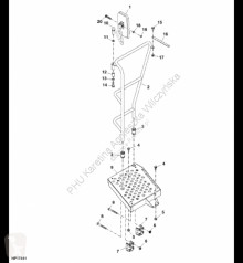 Pièces détachées John Deere AXE15476 John Deere 9880i STS - Platforma occasion