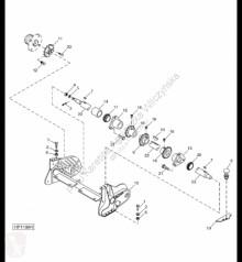 Pièces détachées John Deere H203850 John Deere 9880i STS - Wał occasion