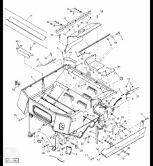Repuestos John Deere AH206070 John Deere 9880i STS - Podpora usado
