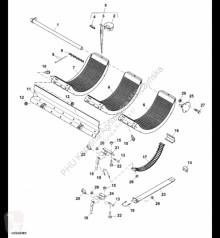 Yedek parçalar John Deere AXE28812 John Deere 9880i STS - Klepisko ikinci el araç