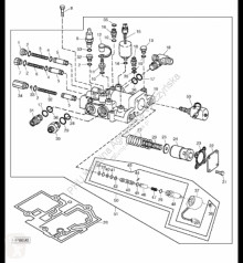 Náhradní díly John Deere AH165248 John Deere 9880i STS - Zawór sterowany ręcznie použitý