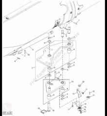 Pièces détachées John Deere AXE29945 John Deere 9880i STS - Urządzenie uruchamiające occasion