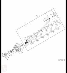 Pièces détachées John Deere H228567 John Deere 9880i STS - Koło prowadzące occasion