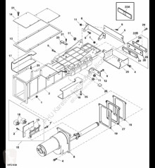 Резервни части John Deere AXE21466 John Deere 9880i STS - Moduł czujnika wilgoci втора употреба