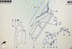 Pièces détachées Claas CLAAS 00 0797 995 0/Claas poszycie ochronne/Claas Lexion 580 occasion
