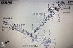 Części zamienne Claas CLAAS 00 0580 748 0/Claas koło koronowe/Claas Xerion 3300 3800 używana