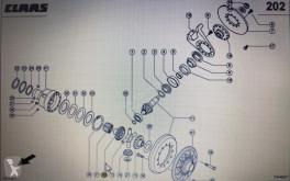 Yedek parçalar Claas CLAAS 00 580 748 0/Class koło koronowe/Claas Xerion 3300 3800 ikinci el araç