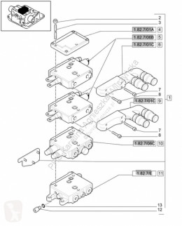 Repuestos Fendt FENDT V837069101/Fendt wałek rozrządu/Fendt 6335 C usado
