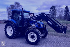 New Holland farm tractor TL90A chargeur - loader