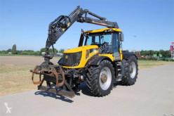tractor agrícola JCB FASTRAC 8250 MIT FORSTKRAN