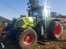 Tracteur agricole Claas Axion 850 occasion