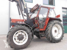 tractor agrícola Fiat 70-88 DT + Stoll Frontlader