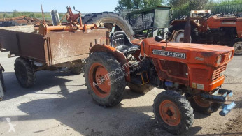 Kubota Tractor L1501 + Reboque + Charrua + Freze